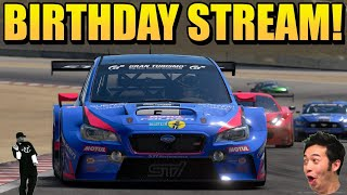 Các cuộc đua hàng ngày của GT Sport: Dành trọn ngày sinh nhật của tôi để được vui chơi tại Laguna Seca!