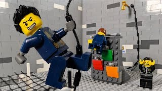 LEGO City Police School Fail 2 STOP MOTION LEGO Police Parkour | LEGO City | Billy Bricks