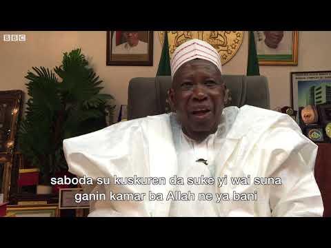 BBC Hausa - Yaushe Gwamna Ganduje zai cire jar hula?