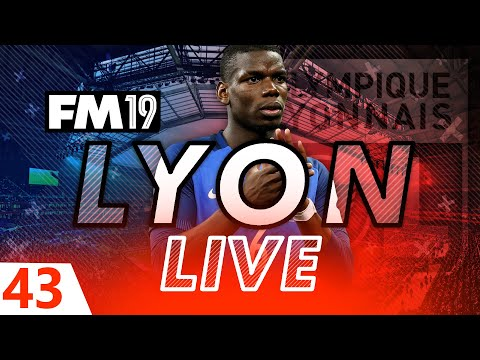 Football Manager 2019 | Lyon Live #43: P$G #FM19
