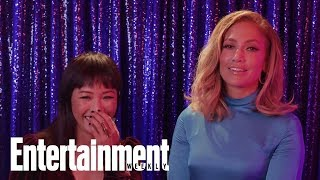 Jennifer Lopez & Constance Wu React To The Songs Of 'Hustlers'   Entertainment Weekly