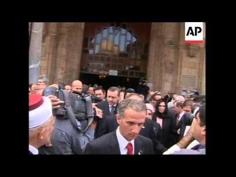 Erdogan visits al-Aqsa mosque, meets Shalom