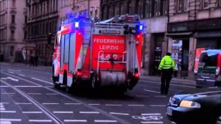 preview picture of video 'Orkantief Niklas über Leipzig! Einsatz für Feuerwehr und Rettungsdienst'