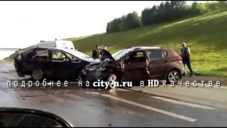 Автоледи на трассе под Прокопьевском не справилась с управлением и выехала на встречную полосу
