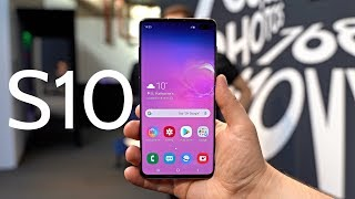 Samsung Galaxy S10 Hands on Review!