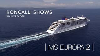 MS Europa 2: Roncalli an Bord