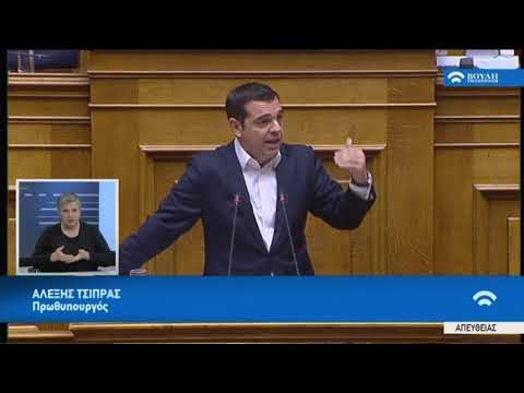 Α.Τσίπρας(Πρωθυπουργός)(Προϋπολογισμός 2019 )(18/12/2018)