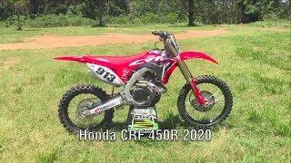 Honda CRF 450 R 2020 - Teste - Vídeo