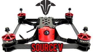 TBS Source V - Drone Racing Box frame - $26 racing quadcopter frame Full review