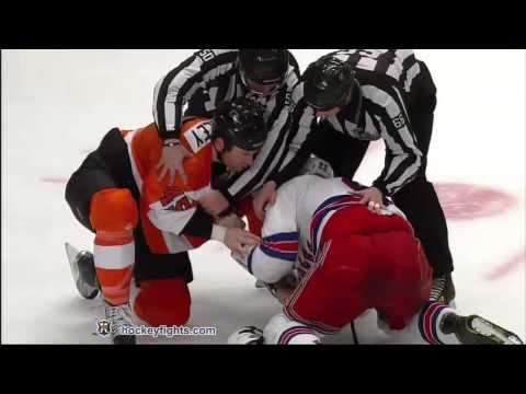 Jody Shelley vs Brian Boyle