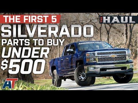 The First 5 Silverado Parts You Should Buy Under $500 For 2014 - 2018 Chevrolet Silverado - The Haul