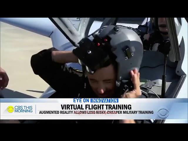 Пилот реального истребителя впервые сразился с виртуальным противником