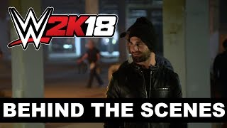 Behind the Scenes of the WWE 2K18 Seth Rollins Cover Reveal Trailer