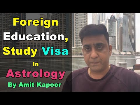 Foreign Education, Study Visa In Astrology
