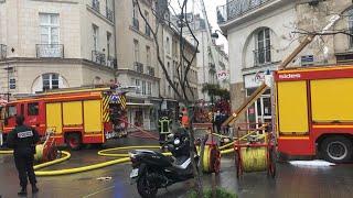 Incendie Rue De La Paix