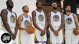 Tracy McGrady calls the 2018-19 Warriors 'scary' | The Jump