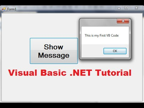 Visual Basic .NET Tutorial 1 – Downloading Visual Studio and Creating First VB Program