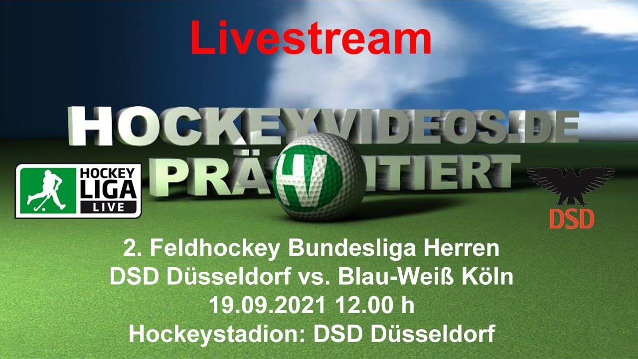 19.09.2021, 12:00 Uhr: Herren: DSD Düsseldorf vs. Blau-Weiß Köln