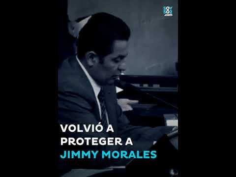 El Congreso de la República volvió a proteger a Jimmy Morales