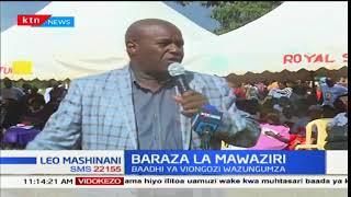 Rais Uhuru Kenyatta na naibu wake William Ruto kuteuwa baraza la mawaziri