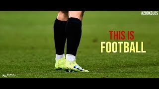 4K Football Skills Video