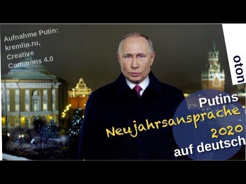Putins Neujahrsansprache 2020 auf deutsch [Video]