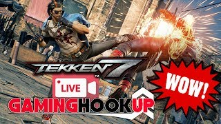 Playing TEKKEN 7 Against Friends on PS4 Multiplayer as We Drink