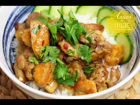Asian at Home | Vietnamese Lemongrass Chicken
