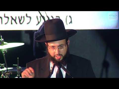 """עצרת האמונה • הרב יחזקאל מוצא: כך זכינו לנס בזכות ה""""אגרות קודש"""""""
