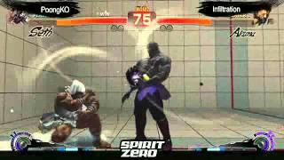 SSF4 AE: Poongko (Seth) vs Infiltration (Akuma) - Grand Finals of Korea Cup