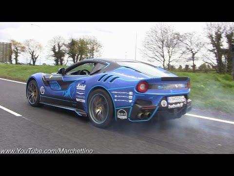 Không có siêu xe nào phát ra âm thanh đỉnh hơn Ferrari V12?
