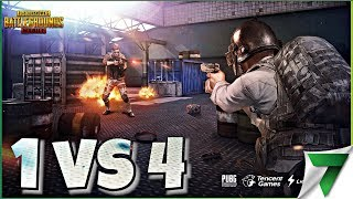 DESTROYING IN SOLO Vs SQUADS DP-28 POWER! | PUBG Mobile