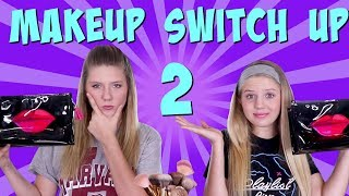 MAKEUP SWITCH UP ROUND 2 || Taylor and Vanessa