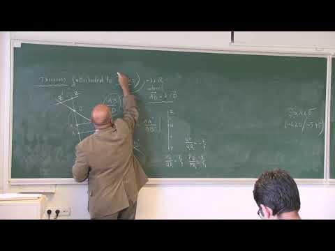 MATH 373 - Geometry I - Week 1 Lecture 1
