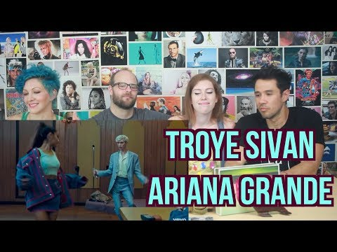 Troye Sivan ft Ariana Grande - Dance To This - REACTION