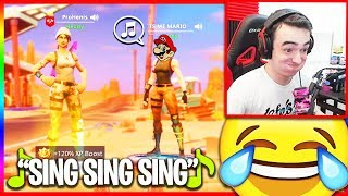 Kid Pretends To Be Mario, Sings Me A Song... (Funny Random Duos)
