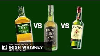 BLIND TASTE TEST: Conor McGregor Proper No. 12 vs. Jameson vs. Tullamore Dew | Which Whiskey Wins?