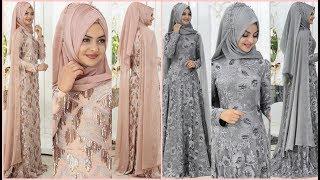 Amazing Hijab Dresses For Wedding#very Beautiful Kashmir Dresses