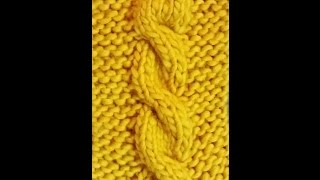 HOW TO KNIT CABLE STITCH FOR BEGINNERS