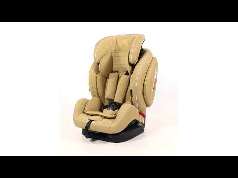 Детское автокресло LORELLI Mars+ SPS Isofix (Black Leather)
