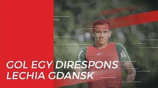 Gol Egy Maulana Vikri di Menit Awal Dapat Respons Klubnya Lechia Gdansk
