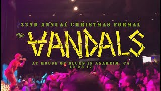 The Vandals @ House of Blues in Anaheim, CA 12-23-17