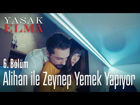 Alihan ile Zeynep yemek yapıyor - Yasak Elma 6. Bölüm