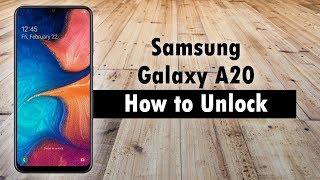How to Unlock Samsung Galaxy A20