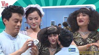 Mạc Văn Khoa giả gái làm vợ Lam Trường liên tục đòi được hôn làm Lâm Vỹ Dạ nổi hết da gà