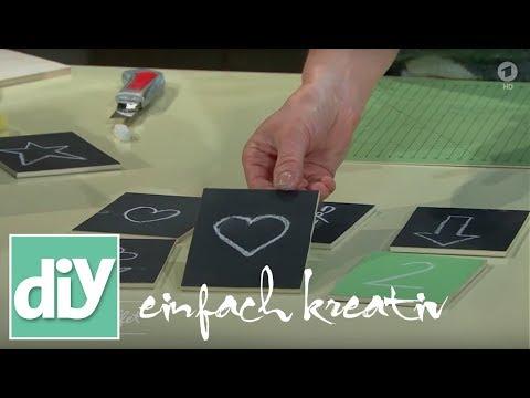 Merk-Spiel mit Tafelkreide | DIY einfach kreativ