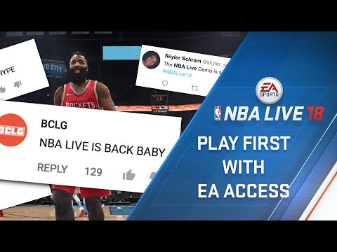 Play NBA LIVE 18 first on Xbox One thumbnail