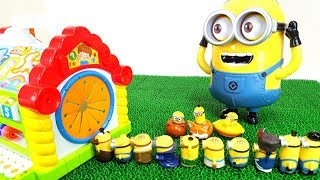 Minions Dive into the Colors House Minions, Kevin, Stuart, Mob, Giant Stuart Toy Story for Kids