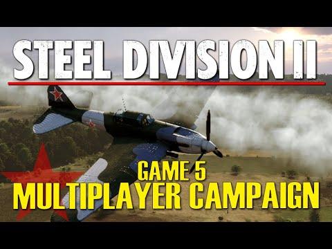 ! Steel Division 2 Multiplayer Campaign Gameplay #5 (Góra Kalwaria, 4v4)