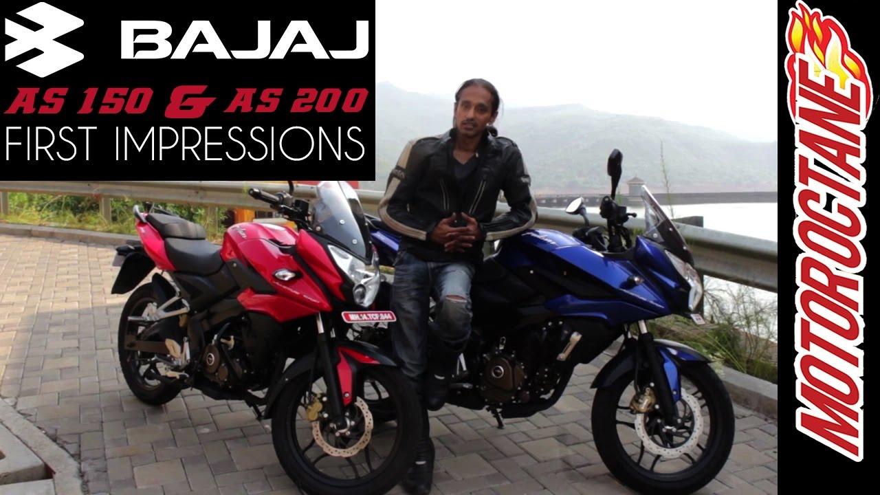 Motoroctane Youtube Video - Bajaj Pulsar AS 150 and AS 200 | Motor Octane